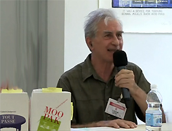 Gabriel Josipovici at Montpellier, France conference